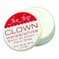 Clown White Fun Faze