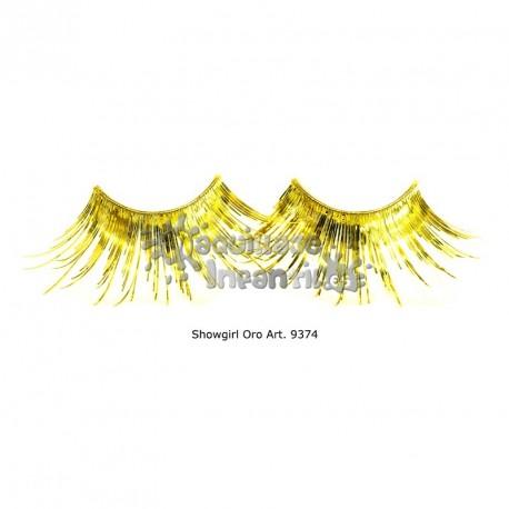 Pestañas Showgirl Oro Kryolan