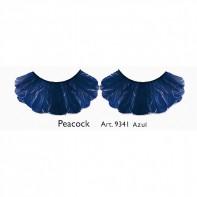 Pestañas Fantasía Peacock Azul Kryolan