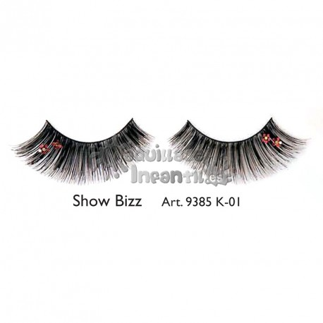 Pestañas Fantasía Fashion Show Bizz K01 Kryolan