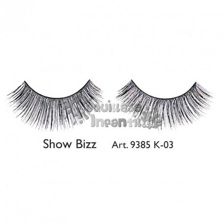 Pestañas Fantasía Fashion Show Bizz K03 Kryolan
