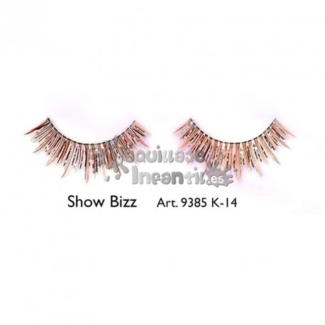 Pestañas Fantasía Fashion Show Bizz K14 Kryolan