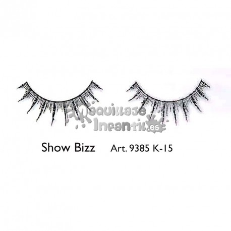 Pestañas Fantasía Fashion Show Bizz K15 Kryolan