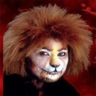 Prótesis Cara de Gato Pequeña Woochie Cinema Secrets