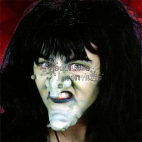 Prótesis Nariz y Barbilla de Bruja Pequeña Woochie Cinema Secrets