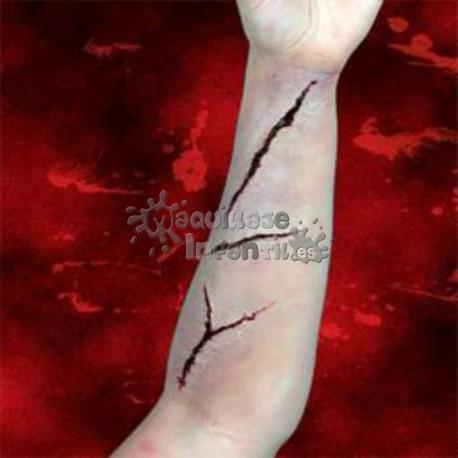 Prótesis Set de Heridas Nº1 Woochie Cinema Secrets