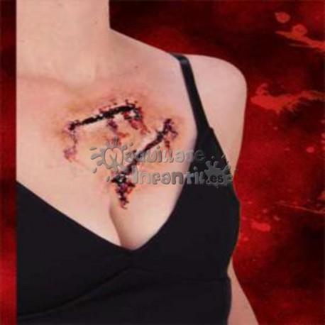 Prótesis Set de Heridas Nº2 Woochie Cinema Secrets
