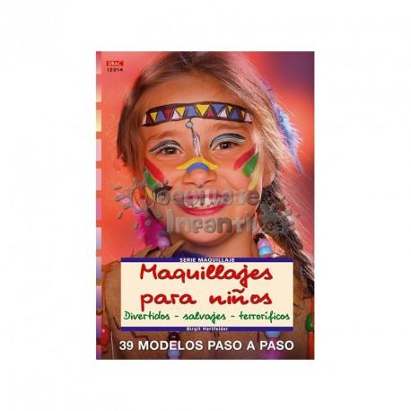 Maquillajes para Niños. Divertidos, Salvajes, terroríficos…