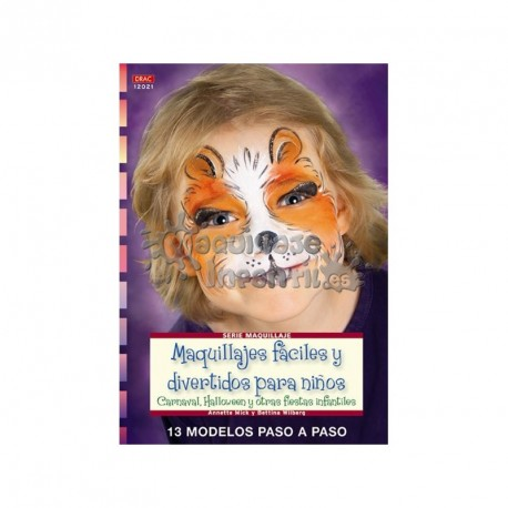 Maquillajes Fáciles y Divertidos para niños